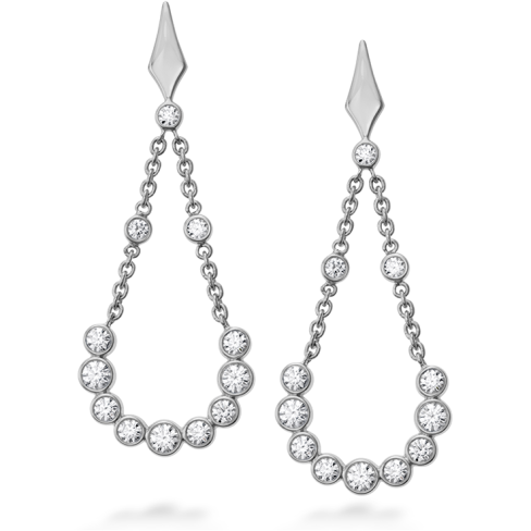 COPLEY BEZEL DROP EARRINGS
