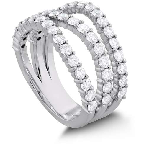 ATLANTICO TRIPLE WAVE DIAMOND RING