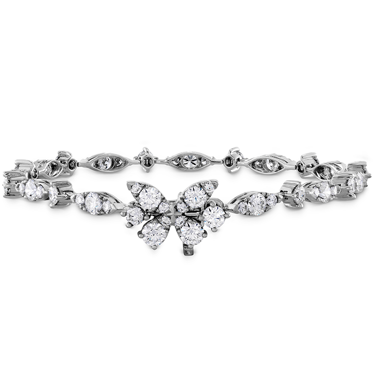 AERIAL DIAMOND LINE BRACELET view 1