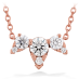 AERIAL TRIPLE DIAMOND NECKLACE view 1