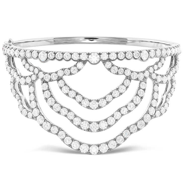 LORELEI CHANDELIER DIAMOND CUFF view 1