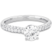 EUPHORIA HOF ENGAGEMENT RING - DIAMOND BAND view 3