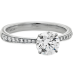 HOF SIGNATURE ENGAGEMENT RING-DIAMOND BAND view 3