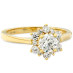 DELIGHT LADY DI DIAMOND ENGAGEMENT RING view 2