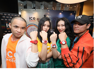 Ice-Watch is bringing you the dawn of fashion accessory bursting with energy!